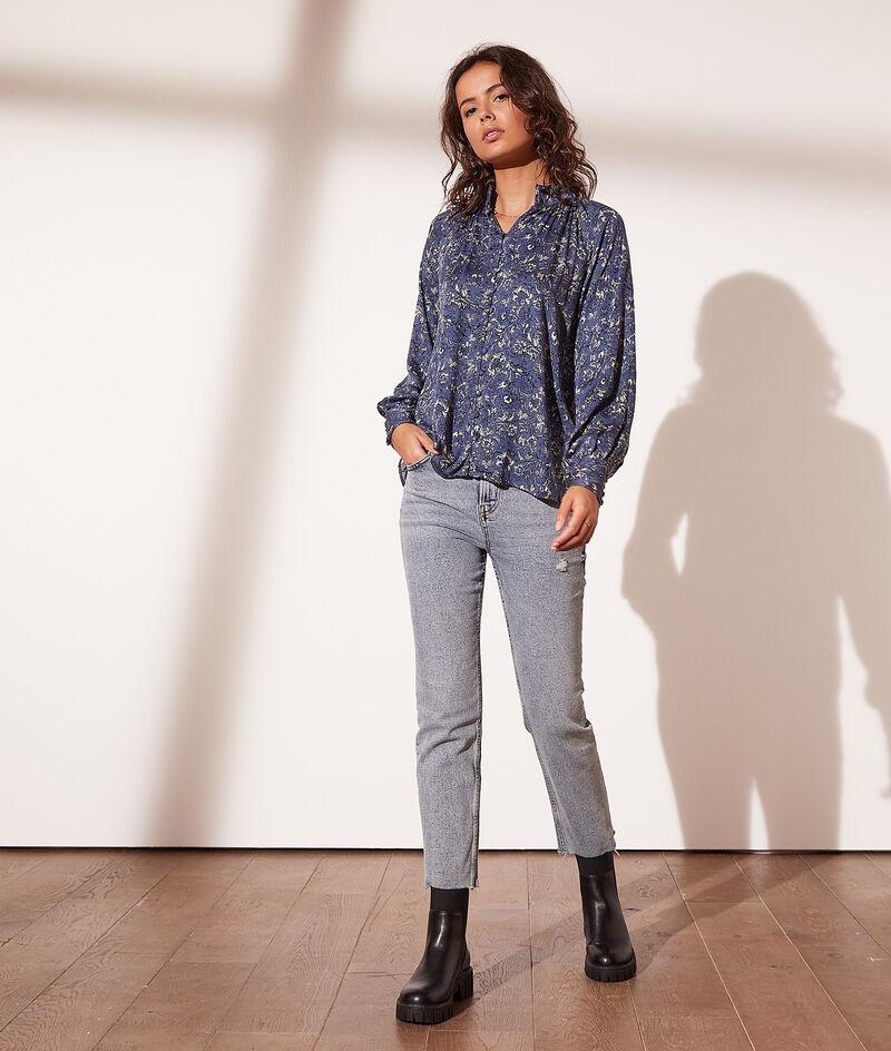 Print blouse