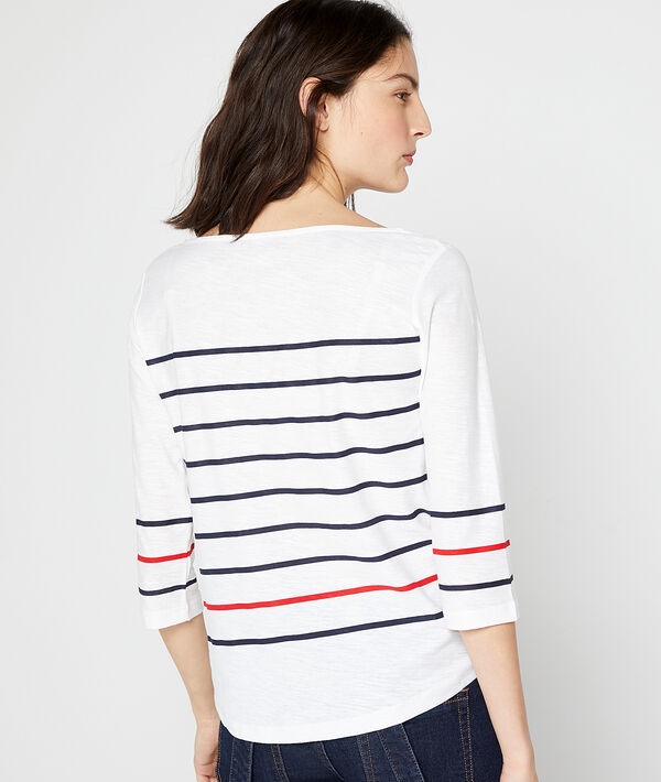 """Frenchie"" breton stripes top"