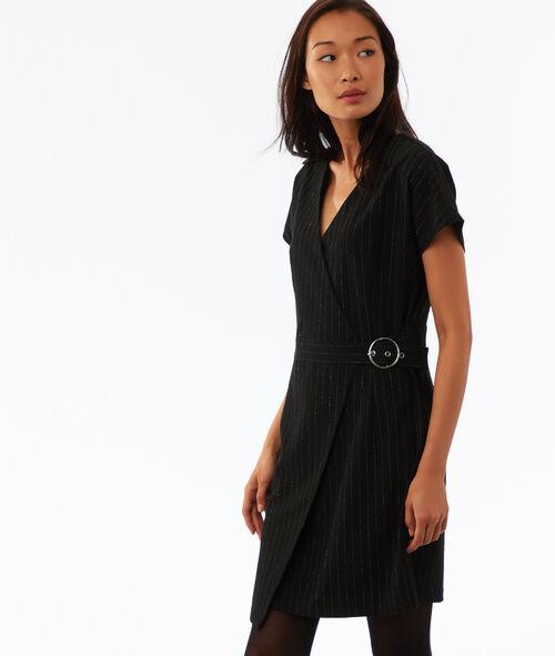 Metallic thread dress
