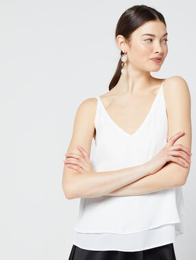 Flowing top white.