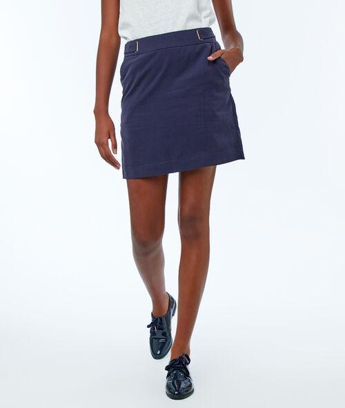 Tencel® straight skirt