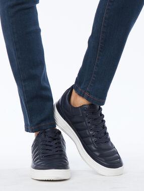 Sneakers navy blue.