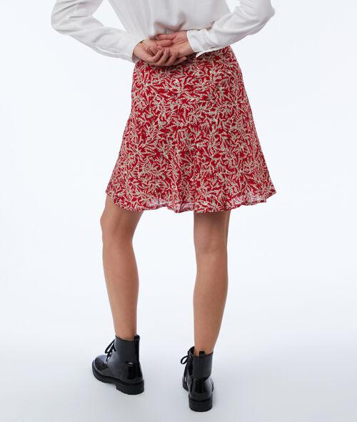 Skater skirt with print