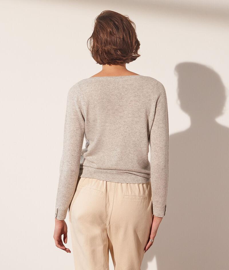 Cashmere wide neck jumper