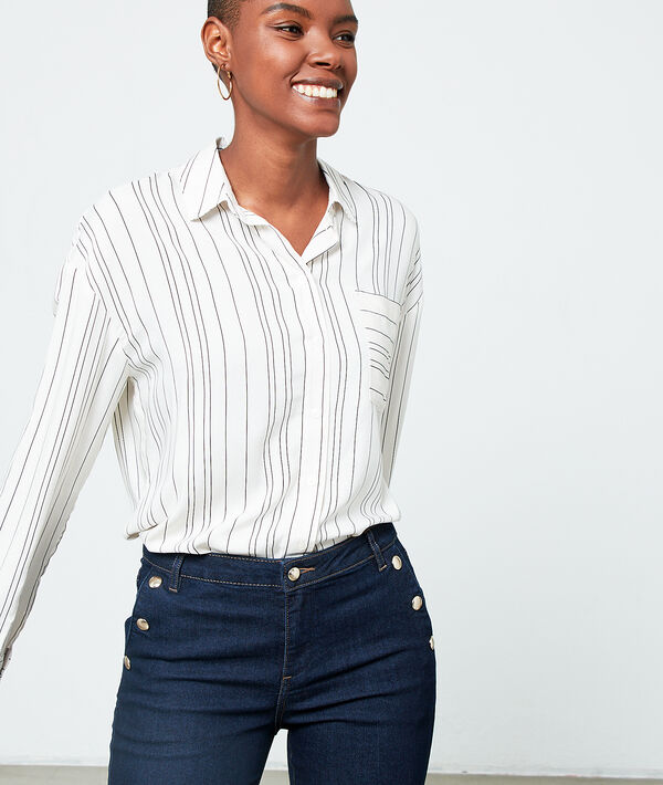Shirt in stripes