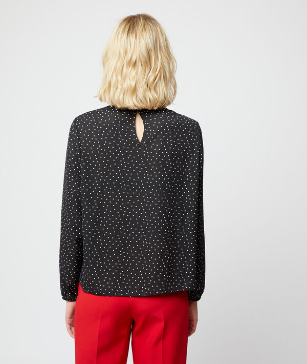 Blouse in dots