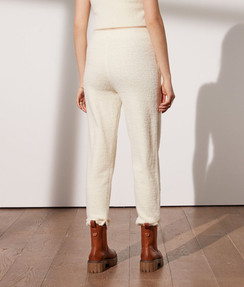 Pantalon duveteux