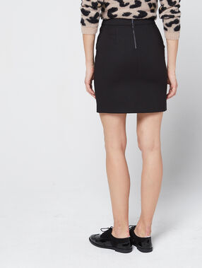 b70637998 Leather look skirt with stud detailing - Etam