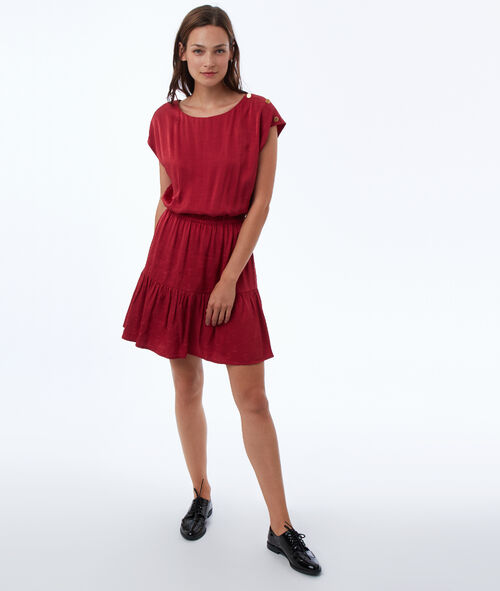 Ink jacquard dress