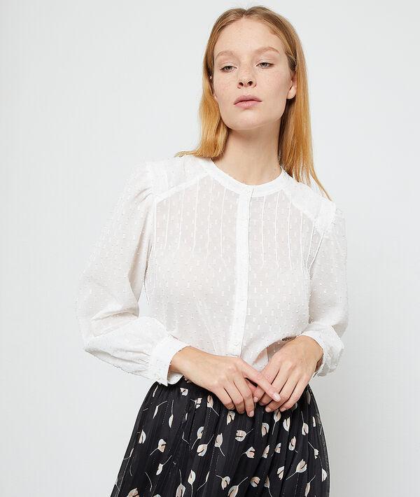 Dobby mesh shirt