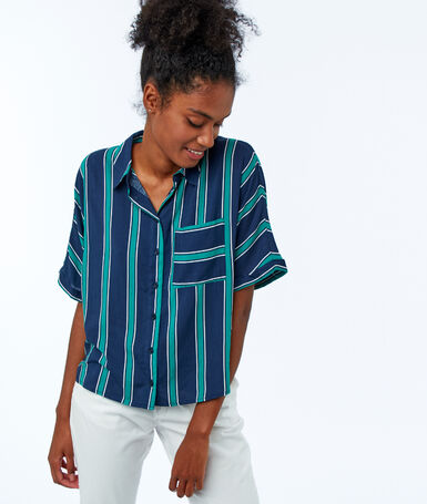 Striped blouse moonlight.