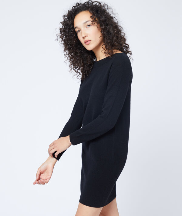 Cashmere jumper dress