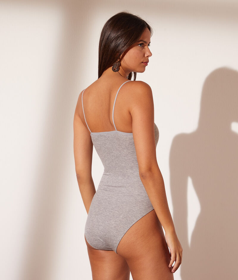 Thin-strapped bodysuit