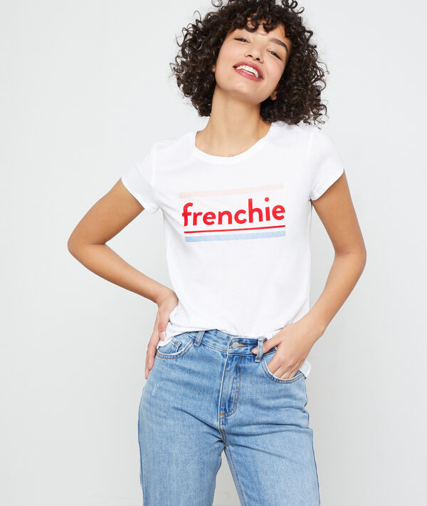"""Frenchie"" organic cotton T-shirt"