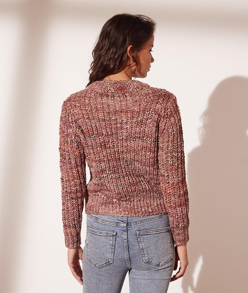 Turtle-neck knit jumper