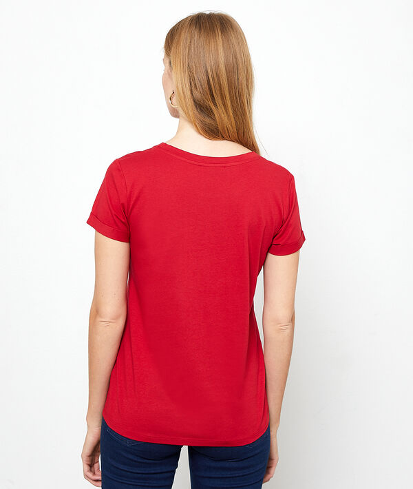 'Amore mio' embroidered T-shirt
