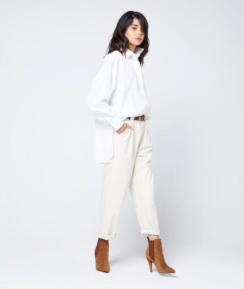 Shirt in oversize cut