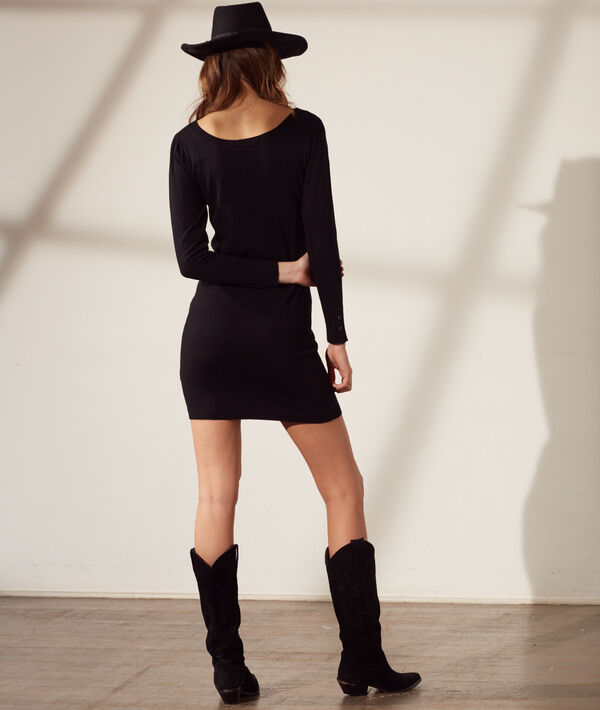 Jumper dress in a fine knit