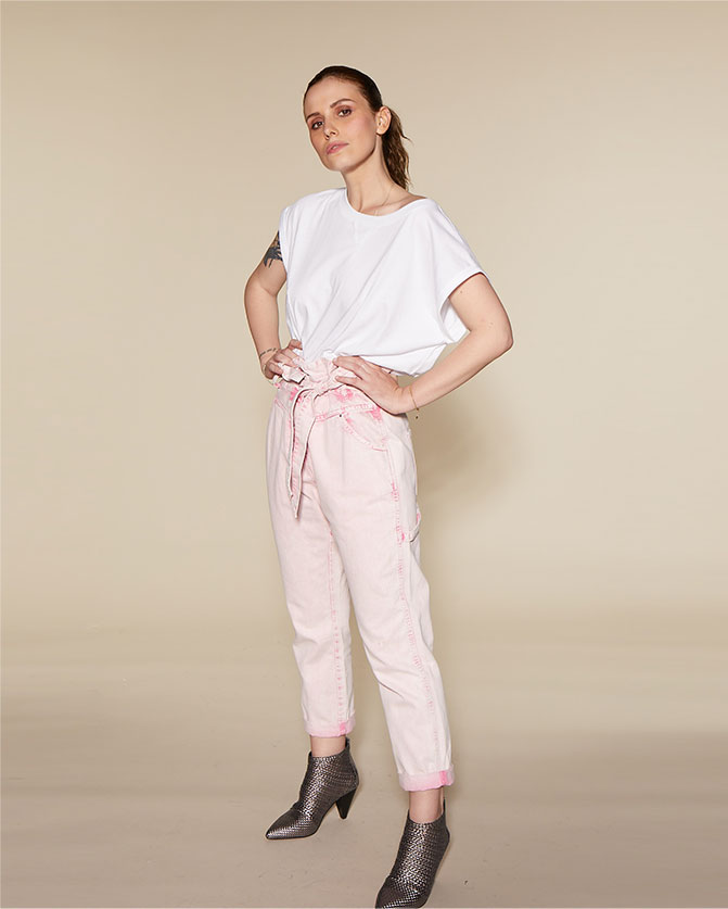 ETAM - sand trousers